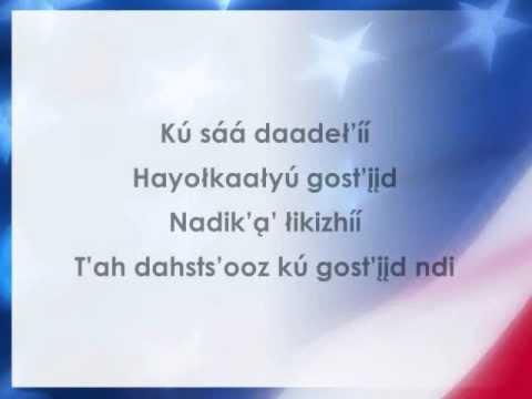 Star-Spangled Banner (Apache Lyrics) (National Anthem)