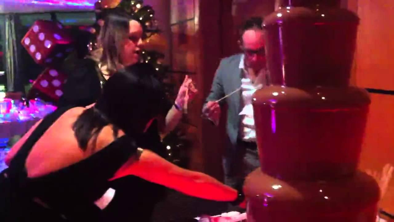 Raffelinas Chocolate Fountain - YouTube