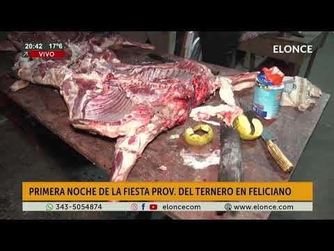 La carne, infaltable en la Fiesta del Ternero de Feliciano