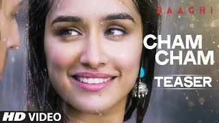 Shraddha Kapoor reveals teaser of Cham Cham song from Baaghi!