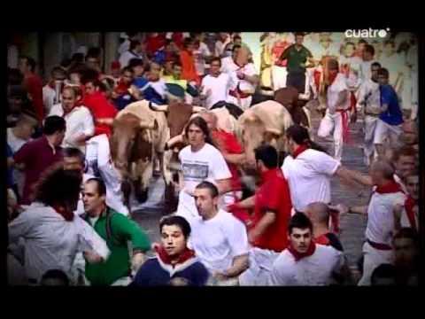 Encierros San Fermín - excelente resumen (10-7-2008) CUATRO
