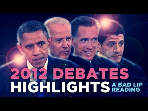 Bad Lip Reading: Debates Highlights