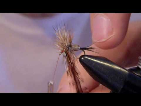 Scotts Virtual Fly Tying - Humpy