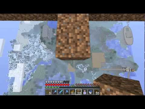 Etho MindCrack SMP - Episode 7: Sky Shrooms (Part 1)
