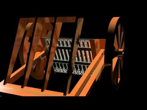 Leonardo Da Vinci Machine Gun