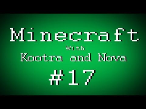 Fail Minecraft with Kootra and Nova: Making Sp00n a Cake Part 17 (Multiplayer/Survival)
