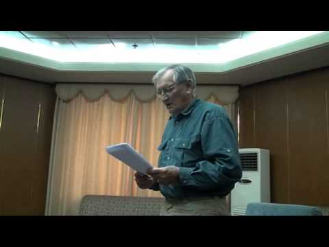 Merrill Newman, American vet held in N. Korea, reads apology letter