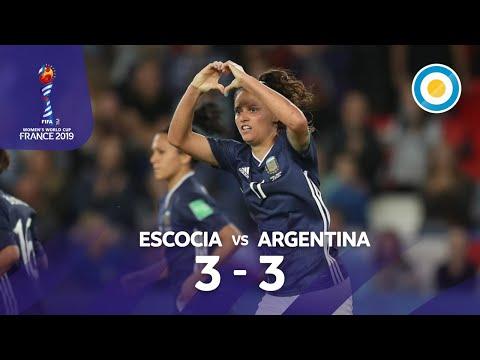 Histórico y emocionante empate de la Selección Argentina: igualó 3-3 con Escocia