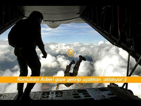 Türk Askeri Nasıl Gaza Getirilip Uçaktan Atılır