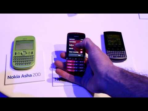 Nokia Asha 200, 300 and 303 Hands-on