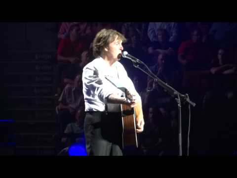 Paul McCartney Eleanor Rigby Live Montreal Centre Bell 2011 HD 1080P