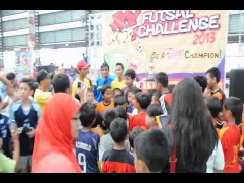 Si Madun di XY-Kids! Futsal Challenge 2013