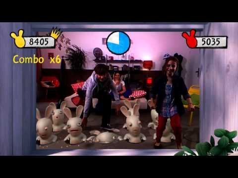 Raving Rabbids: Alive & Kicking - B-Roll (X360)