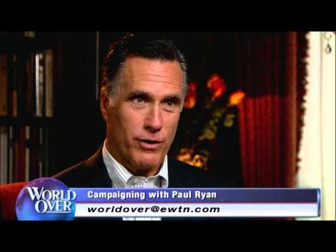 Thumbnail image for 'The World Over - Mitt Romney interviewed by Raymond Arroyo'