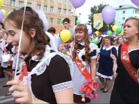 1071 выпускник вышел на улицы города в