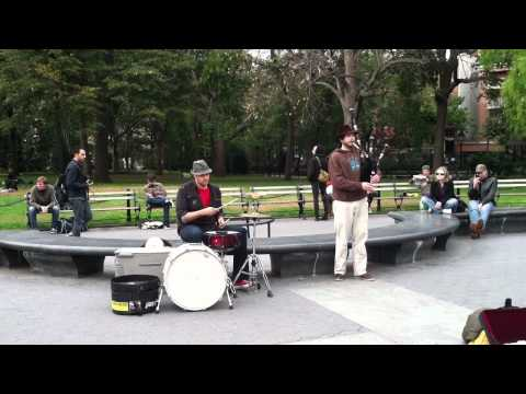 "Scottish Octopus ""The Cursed Reed/Pirate Jigs"" @ Washington Square Park"