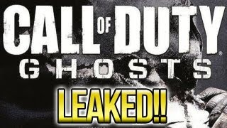 "Call of Duty: GHOSTS ""LEAKED"" Box Art & Release Date 11/5/13? (Story Line before Cod 4?)"