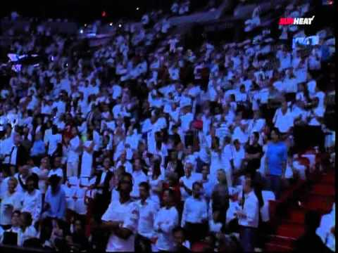 May 09, 2012 - Sunsports - 2012 Miami Heat Home Playoffs Player Introduction