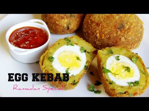 Egg kabab | Easy potato egg snack | Ramadan Recipes
