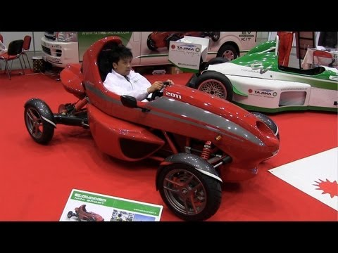 New Car or New Go-cart? Tajima e-runner Mini Sport EV
