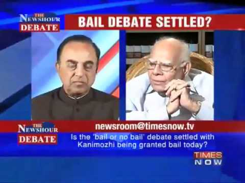 Part 1/2 - Subramanian Swamy vs Ram Jethmaani debate