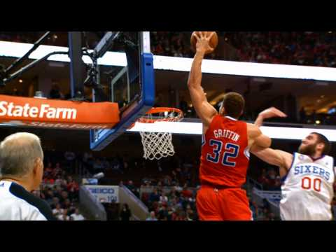 Phantom: Griffin's left-handed baseline slam!