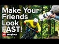 Make Your Friends Look FAST In Bike Photos