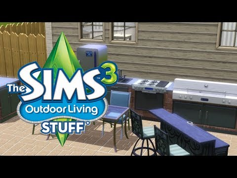 The Sims 3 Outdoor Living Stuff Pack Review - LGR