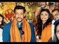 Salman Khan And Daisy Shah Spotted At Sidhivinayak Temple