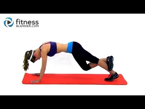 Light Toning and Flexibility Routine - Fitness Blender Cool Down Workout