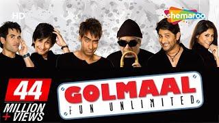 Golmaal - Fun Unlimited (2006)(HD Eng Subs) Ajay Devgan, Arshad Warsi, Rimi Sen - Best Comedy Movie