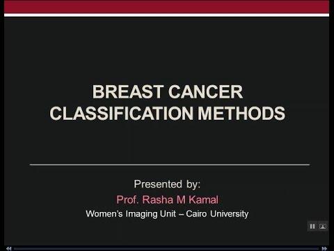Breast Cancer Classification Methods - Prof Dr. Rasha Kamal (In Arabic)
