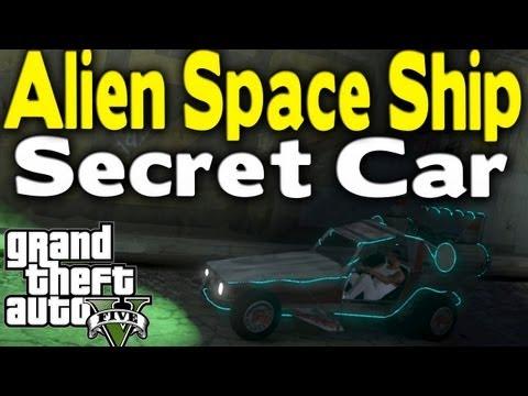 gta v online secret cars gta 5 secret alien space - Gta V Secret Cars