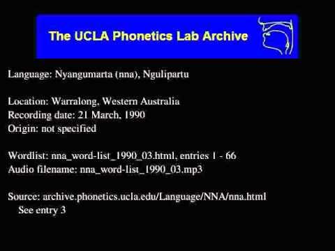 Nyangumarta audio: nna_word-list_1990_03