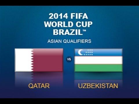 توقيت وموعد مباراة قطر وأوزبكستان  يوم الثلاثاء 18/6/2013 تصفيات كاس العالم 2014