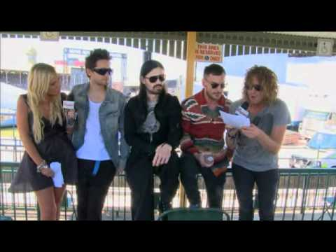 30 Seconds To Mars - Soundwave 2011 - Hit List TV interview
