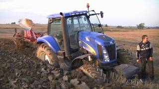 Zabłąkany traktorzysta