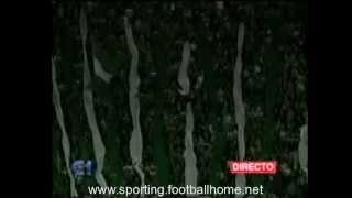 Reportagem antes e depois do Sporting-Porto a contar para a meia-final da Taça de Portugal em 1995/1996