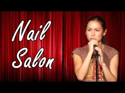 Nail Salon - Anjelah Johnson - Comedy Time (Funny Videos)