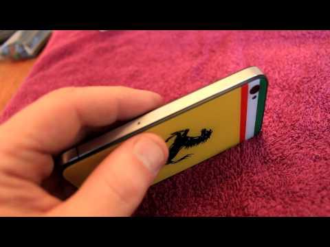Apple iPhone 4 - Ferrari bach glass housing