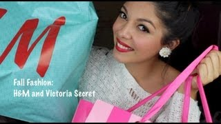 sccastaneda – H&M + Victoria Secret Fall Shopping Haul