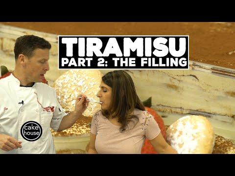 Classic Tiramisu Recipe Part 2/3 | Mascarpone Filling | Classic Desserts w. Cake Boss's Joe & Grace