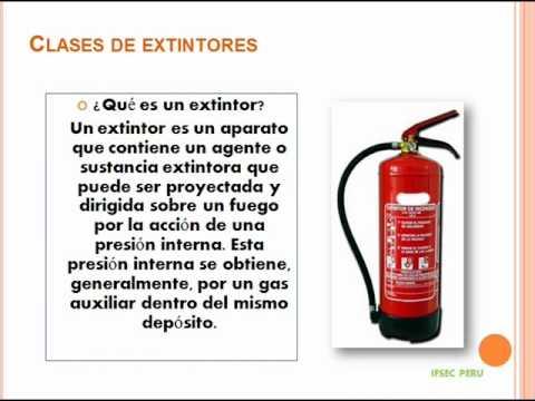 Lucha Contra Incendios y Uso y Manejo de Extintores