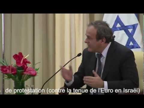 Honte à l'UEFA - Carton rouge pour Israël