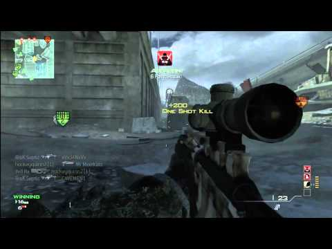 MW3 MSR Streak