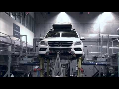 New Mercedes-Benz M-Class 2012 - Body Shell Test Rig