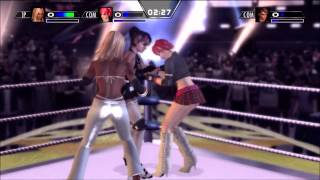 Wrestling Game Review: Rumble Roses XX view on youtube.com tube online.