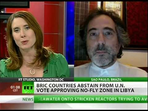 BRIC countries unite on Libya