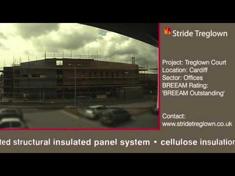 Treglown Court, Cardiff - Construction Timelapse