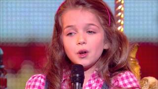 "Erza, 8 years old, sings ""La vie en rose"" by Edith Piaf - Final 2014 - France""s Got Talent 2014"